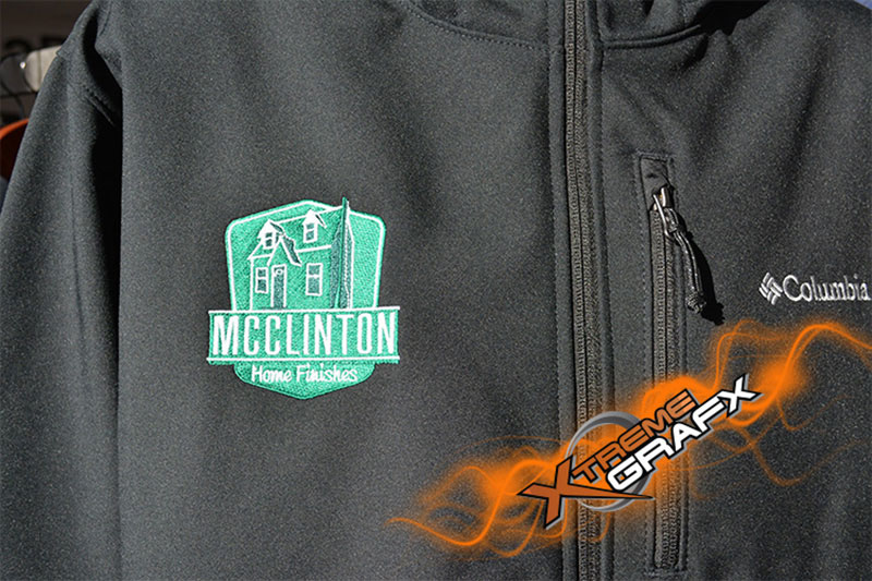 McClinton Embroidery at Xtreme Grafx in Albany, Oregon