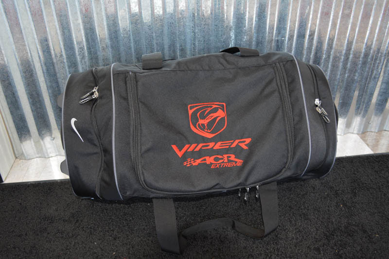 Viper Bag Embroidery at Xtreme Grafx in Albany, Oregon