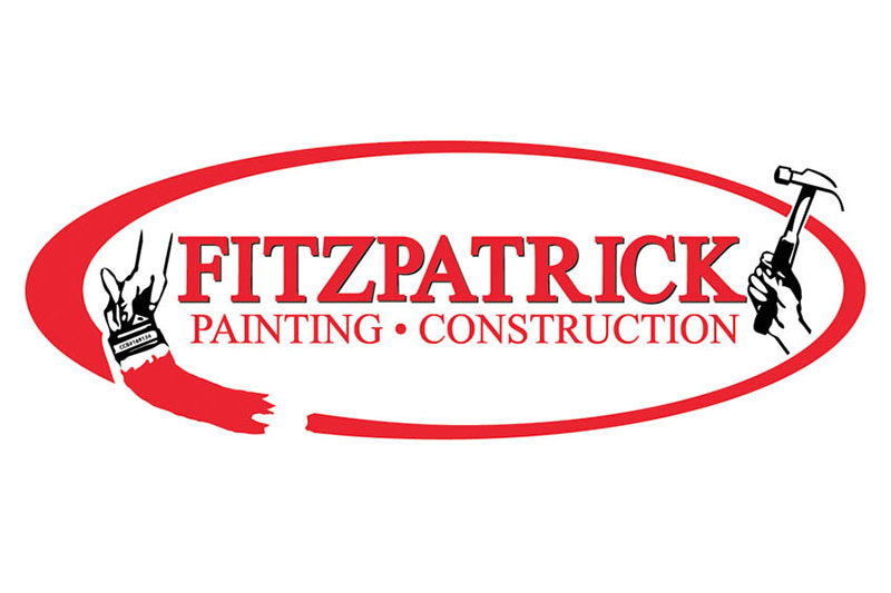 Fitzpatrick Painting Logo Design at Xtreme Grafx in Albany, Oregon